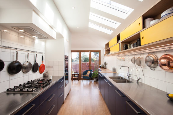High End kitchen extension