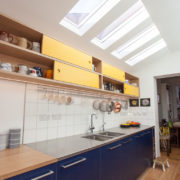 Rooflights in kitchen