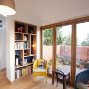 Kitchen extension bifold doors