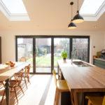 Kitchen bifolds