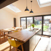 Kitchen dining extension
