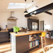Lean-to extension