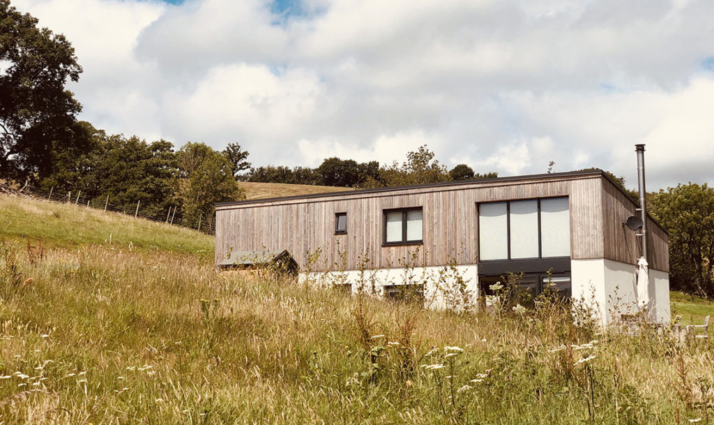 Class Q barn conversion to a house in the countryside