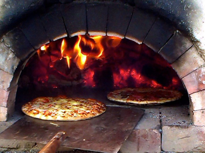 Pizza oven Tom Spriggs Architect